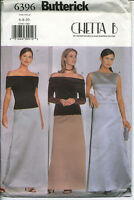 B 6396 sewing pattern Stunning TOPS A-line SKIRT sew 6,8,10 chic CHETTA B design