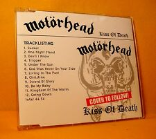 MAXI CD Motörhead Kiss Of Death 12 TR 2006 Promo Album Hard Rock Heavy Metal