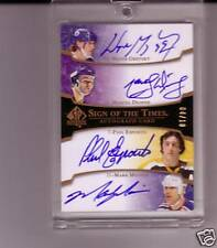 GRETZKY/MESSIER/ESPOSITO/DIONNE QUAD SIGN OF THE TIMES
