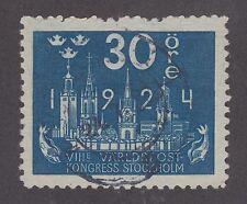 Sweden Sc 202 used 1924 30ö Stockholm Skyline definitive