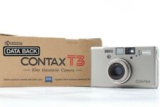 【 Mint in BOX 】 Contax T3 D 35mm Point & Shoot Film Camera Data Back From JAPAN