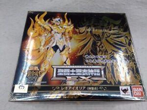 Saint Seiya Cloth Myth EX Soul of Gold God Cloth Leo Aioria Bandai Used F/S