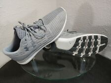 Under Armour Threadborne Slingflex Mens 14 Grey / White / Silver