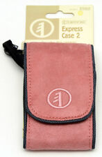 TAMRAC Express Case 2 #3582  belt loop, shoulder strap ULTRA SUEDE PINK