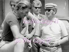 Graham Hill & Colin Chapman F1 Portrait Photograph