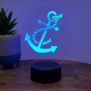 LED Lampe Anker