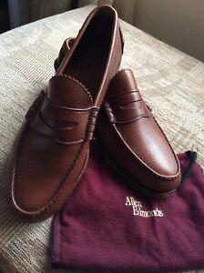 Allen Edmunds, Kenwood Penny Loafer with Kudu Leather, USA Size 8E /Uk 7.5,