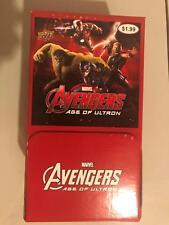 Marvel Avengers: Age of Ultron 36 Pack Box Upper Deck