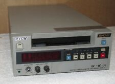 SONY DSR 40 DVCAM VCR Digital Not Working/Untested/As Is/Parts/Repair J0808