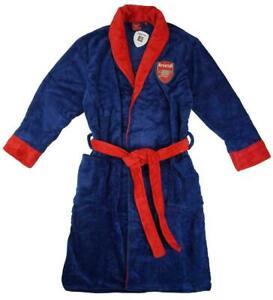 Mens Arsenal dressing gown / bathrobe (bath robe pjs pajamas pyjamas nightwear)