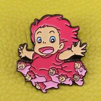 Anime Ponyo figure Pin PONYO ON THE CLIFF STUDIO GHIBLI FREE UK DELIVERY