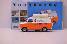 FORD TRANSIT VAN MK1 LANCASHIRE ACCIDENT UNIT VANGUARS 1/43 NEUVE EN BOITE