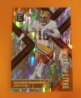 Orange Aspirations 2018 Elite Quadree Henderson Pitt Panthers Rookie Card #145*V