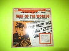ORSON WELLES - THE WAR OF THE WORLDS 2 LP EX