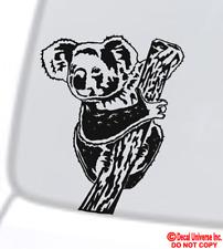 Koala Bear Vinyl Decal Sticker Car Window Wall Bumper Australia Love Marsupial