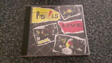 THE ORIGINAL PISTOLS LIVE CD Receiver Records Limited