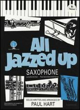 All Jazzed Up for Tenor Sax Sheet Music Book Only Paul Hart