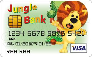 Raa Raa the Noisy Lion Novelty Plastic Credit Card