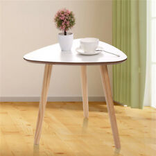 1PC White Side Table MDF Solid Wood Coffee Table Bedside Writing Desk