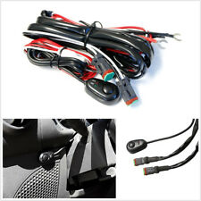 Autos 2M 40A 360W On/Off Switch Control Wiring Harness Kit For LED Working Light