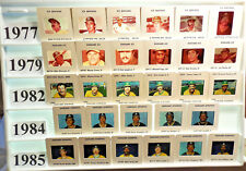 Oakland Athletics A's 1976-85 MLB Made TV card/slide tm Sets U PICK Martin Gross