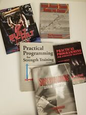 Classic Strength Training Books Including Supertraining Verkhashansky Paperbacks