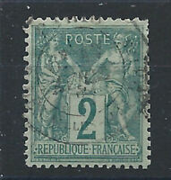 France N°74 Obl (FU) 1876 - Sage type II
