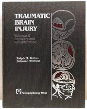 Traumatic Brain Injury Vol 2 Recovery & Rehabilitation 1988 Hardcover Book