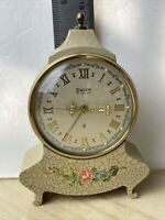 VINTAGE SWIZA 8 MIGNON 7 JEWELS ALARM TRAVEL CLOCK SWISS MADE WORKS READ MORE