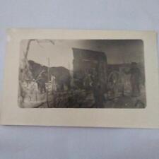 Corn Farm or Logging w Horse Real Photo Postcard Vintage RPPC
