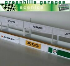 Greenhills Scalextric Brown Pit Numbers Board Pair New MACC784