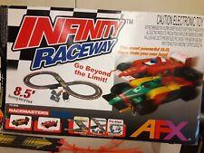 """Tomy Aurora AFX """"Infinity"""" Raceway with Car Rainhow #20 (# 9948) Slot Car"""
