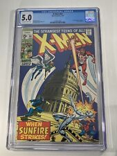 X-Men #64 - CGC 5.0 - 1st appearance of Sunfire - Key Issue 🔥 🔑