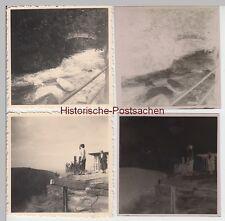 (F10467) 2x Orig. Foto + Negativ, Harz, Bode u. Hexentanzplatz 1955