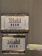 Vintage Diel Beer And Neck Label Defiance Oh Irtp