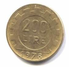 1978 Italy 200 Lire Coin - Republica Italiana