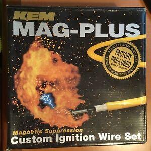 KEM MAG-PLUS 11-4088M CUSTOM IGNITION WIRE SET 8532
