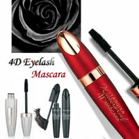Black Waterproof Eyelash Long Curling Fiber Eye Lashes Extension Mascara Makeup