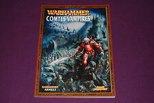 WARHAMMER BATTLE - Livre d'Armée Comtes Vampires 2008 V7-V8