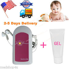 Top Sale Ultrasonic Fetal Doppler,Prenatal Heart Monitor,LED Listen to Baby hear