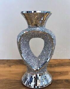 Beautiful Vase Mirror Ceramic Floor Standing Vase Home Decor, Gift, 26cm