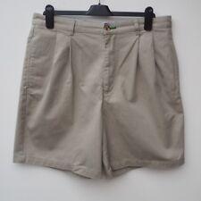 """Fantastic Genuine Designer TOMMY HILFIGER Men's Beige Chino Style Shorts - W35"""""""