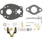 Series Carburetor Kit Fits Case Tractor VA TSX 114 212 253 597 with Float