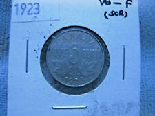 "CANADA 5 CENT 4 COIN LOT / 1926 NEAR ""6"" / 1923 /  1928 /  1932"
