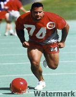 1995 CFL Calgary Stampeders Dwayne Johnson The Rock Color 8 X 10 Photo Free Ship