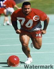 1995 CFL Calgary Stampeders Dwayne Johnson The Rock Color  8 X 10 Photo