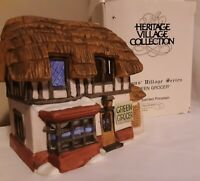 Dept 56 Green Grocer 65560 retired Dickens Village box 1984 First Edition