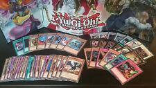 200 CARTE YUGIOH incl. 25 rares & 10 holos! incl Synchro, XYZ Exceed, raccolta