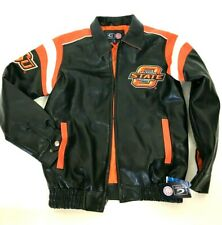 Oklahoma State University Cowboys Varsity Bomber Jacket Sz S (XL youth)