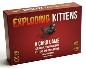 Exploding Kittens Card Game Party Game Family Friendly